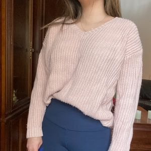 Light Pink Sweater | Forever 21
